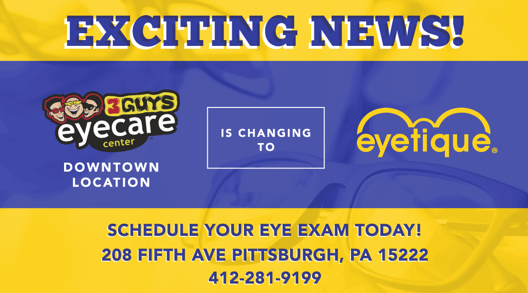 New Location for Eyetique!
